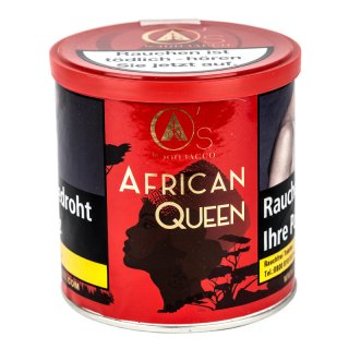 Os Tobacco Red 200g AFRICAN QUEEN
