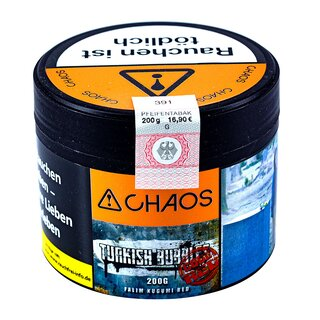 Chaos 200g TURKISH BUBBLES CODE RED